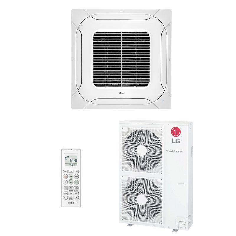 Ar Condicionado Split Cassete Inverter Lg 60000 Btus Quente/frio 220V Monofasico ATNW60GMLP0.ANWZBRZ/B