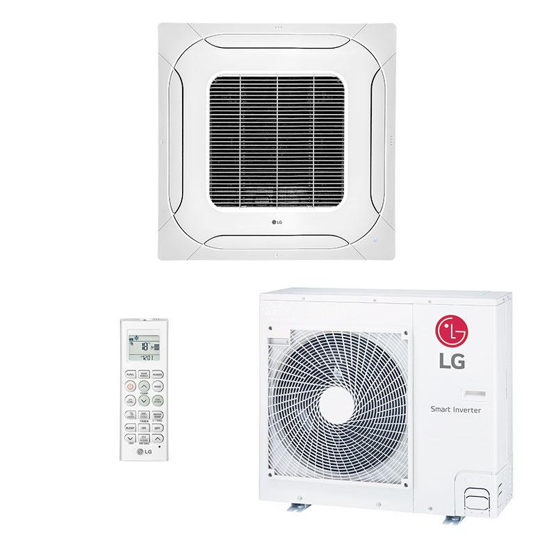 Ar Condicionado Split Cassete Inverter Lg 18000 Btus Quente/frio 220V Monofasico ATNW18GPLP0.ANWZBRZ/B