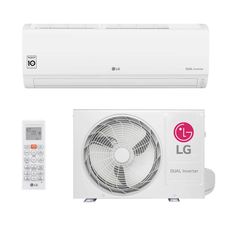 Ar Condicionado Split HW LG Dual Inverter 9000 Btus Frio 220V S4NQ09WA5WB.EB2GAMZ