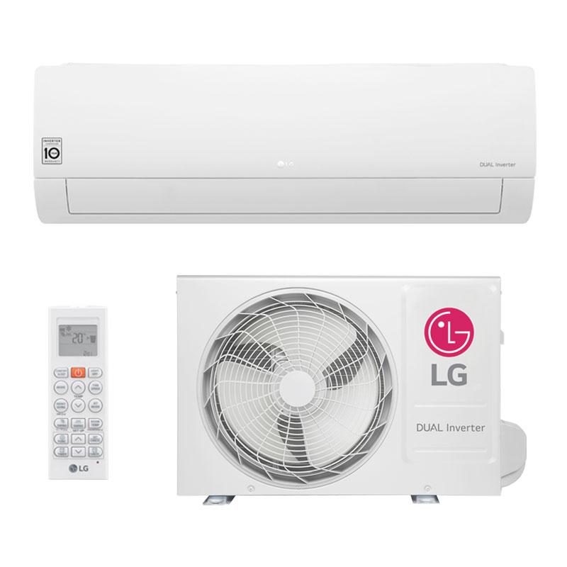 Ar Condicionado Split HW LG Dual Inverter 12000 Btus Quente/Frio 220V S4NW12JA3WA.EB2GAMZ