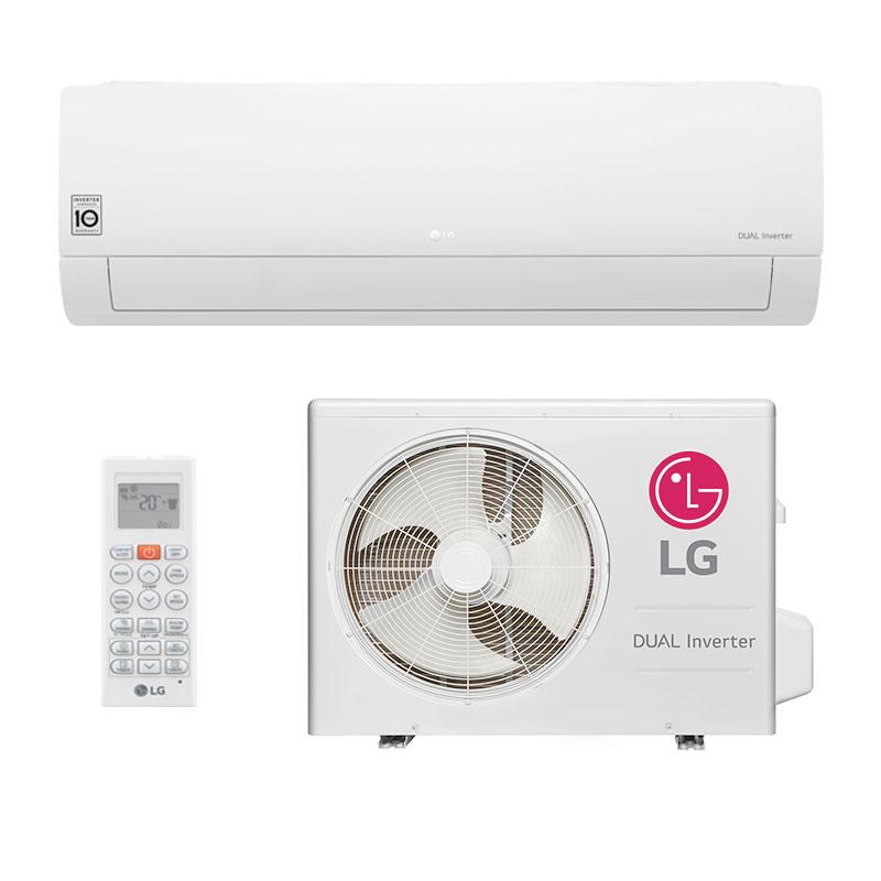 c99acf706 Ar Condicionado Split Hw Dual Inverter Lg 22000 Btus Quente Frio 220V  S4NW24KE3W1.