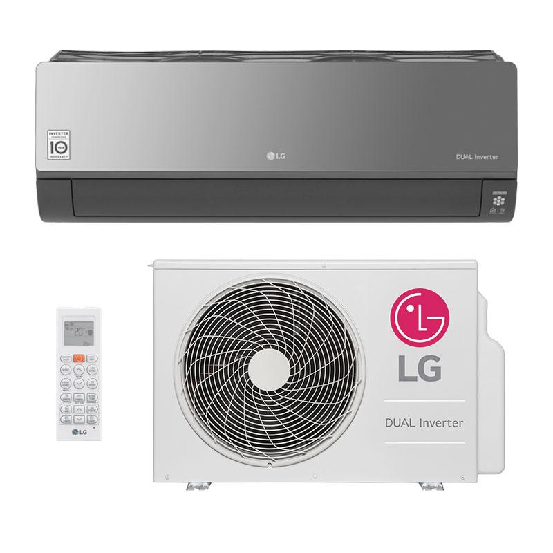 Ar Condicionado Split Hw Dual Inverter Voice Art Cool Lg 18000 Btus Quente/Frio 220V S4NW18KLRPA.EB2GAMZ