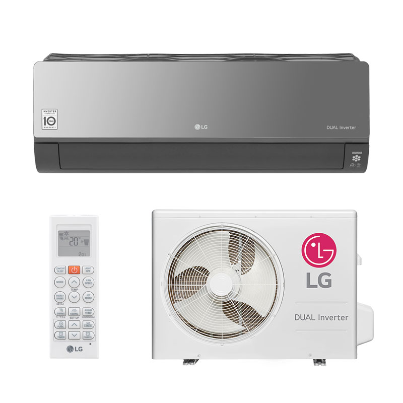 Ar Condicionado Split Hw Dual Inverter Voice Art Cool Lg 22000 Btus Quente/Frio 220V S4NW24KERP1.EB2GAMZ