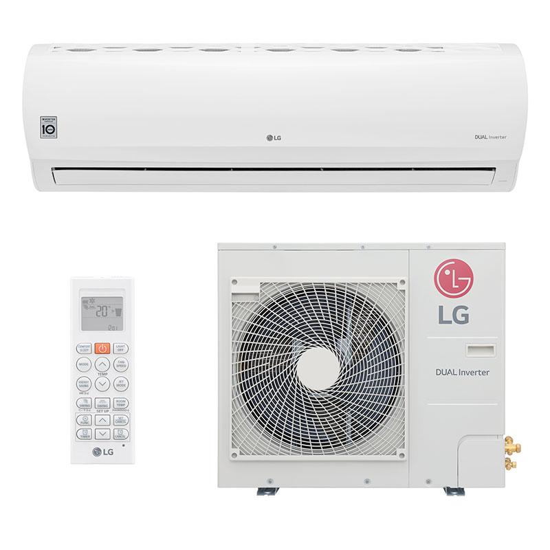 Ar Condicionado Split Hw Dual Power Inverter Lg 31000 Btus Quente/frio 220V Monofasico S4NW31V43B1.EB2GAMZ
