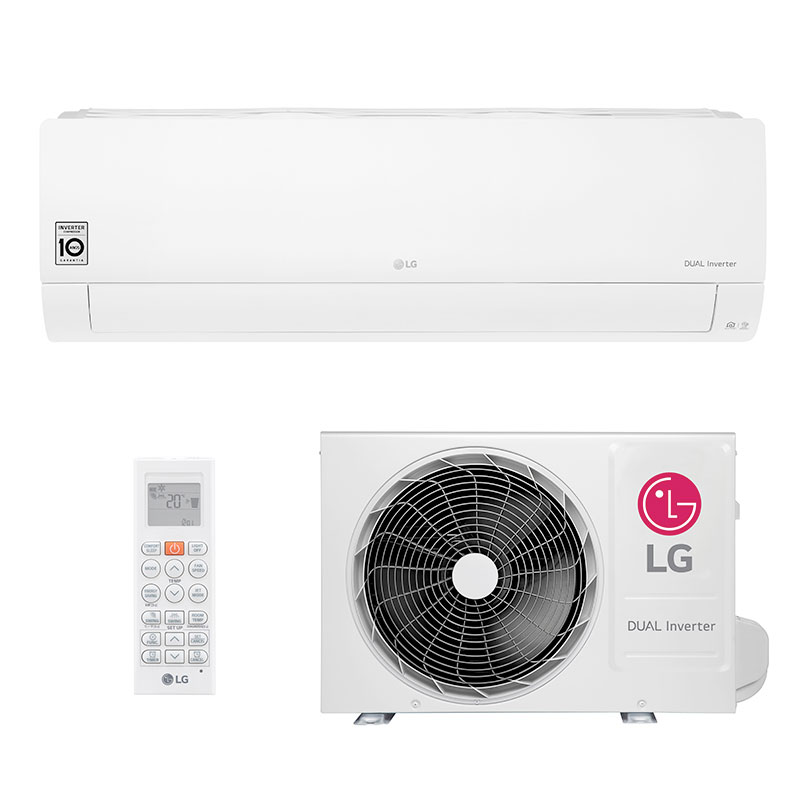 Ar Condicionado Split Hw Dual Inverter Voice Lg 18000 Btus Frio 220V Monofasico S4NQ18KL31A.EB2GAMZ