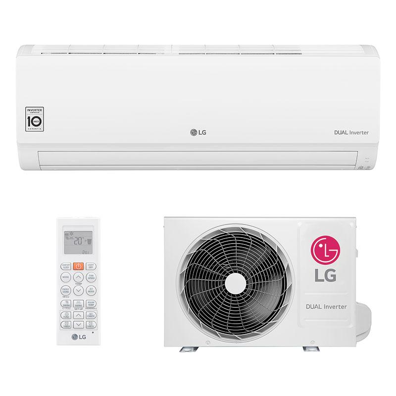 Ar Condicionado Split Hw Dual Inverter Voice Lg 9000 Btus Quente/frio 220V Monofasico S4NW09WA51A.EB2GAMZ