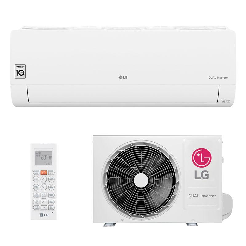 Ar Condicionado Split Hw Dual Inverter Voice Lg 12000 Btus Quente/frio 220V Monofasico S4NW12JA31A.EB2GAMZ