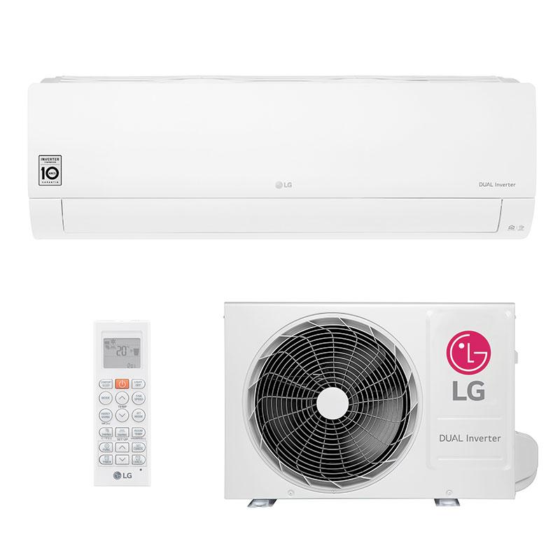 Ar Condicionado Split Hw Dual Inverter Voice Lg 18000 Btus Quente/frio 220V Monofasico S4NW18KL31A.EB2GAMZ