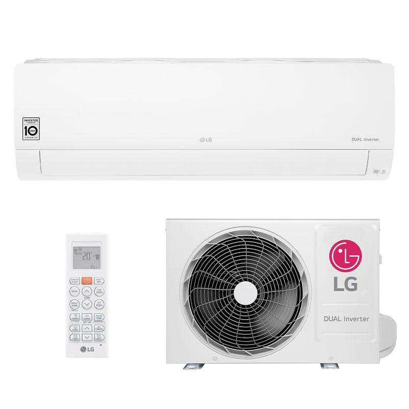 Ar Condicionado Split Hw Dual Inverter Voice Lg 22000 Btus Quente/frio 220V Monofasico S4NW24KE311.EB2GAMZ