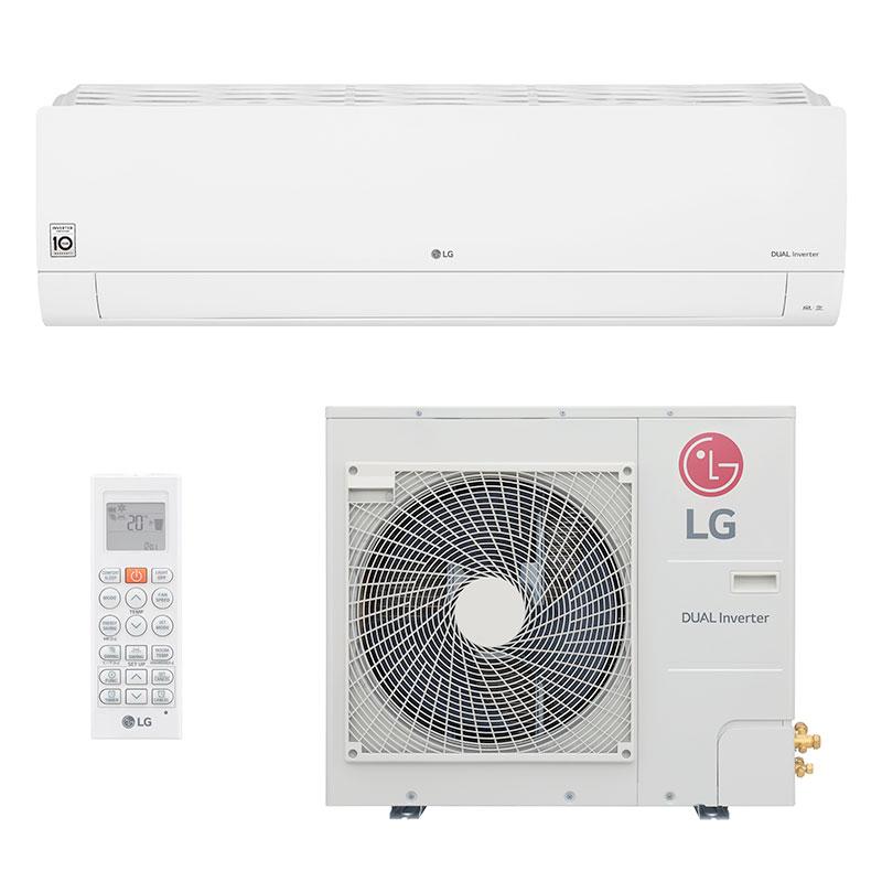 Ar Condicionado Split Hw Dual Inverter Voice Lg 32000 Btus Quente/frio 220V Monofasico S4NW36R43FA.EB2GAMZ