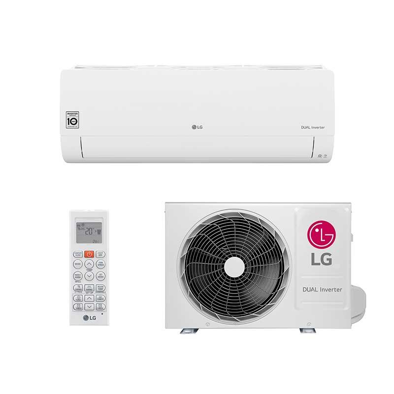 Ar Condicionado Split Hw Lg Dual Voice Inverter 12000 Btus Frio 127v Mono S4NQ12JA31F.EB1GAMZ
