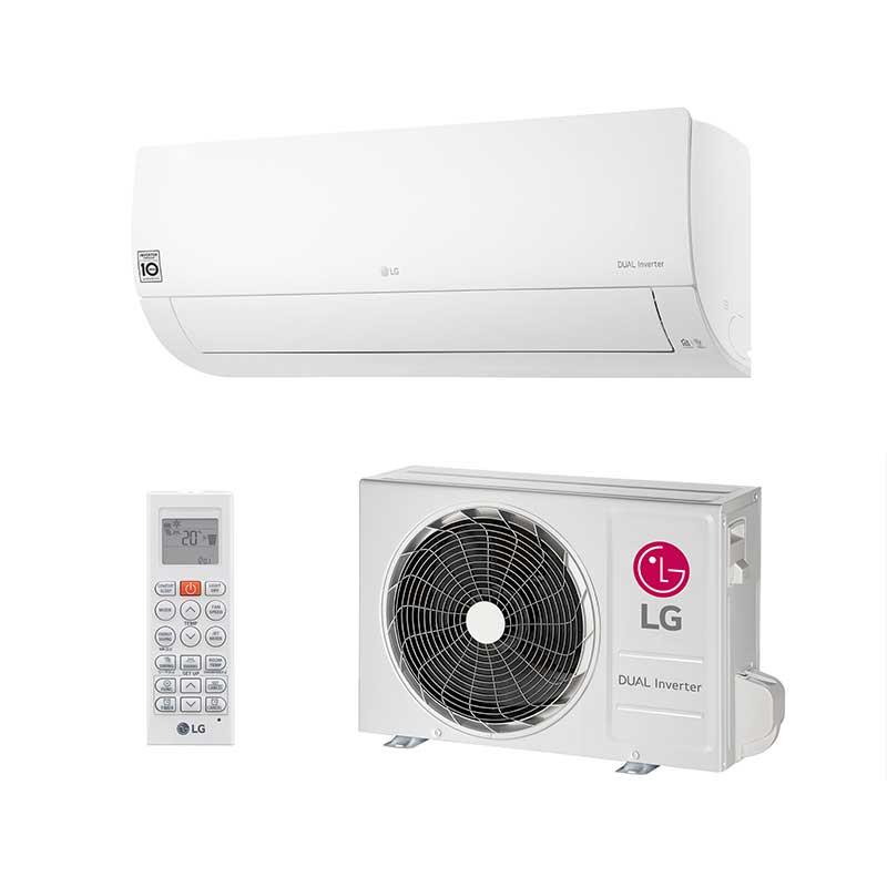 Ar Condicionado Split Hw Lg Dual Voice Inverter 19000 Btus Quente/Frio 220v Mono S4NW18KL31B.EB2GAMZ