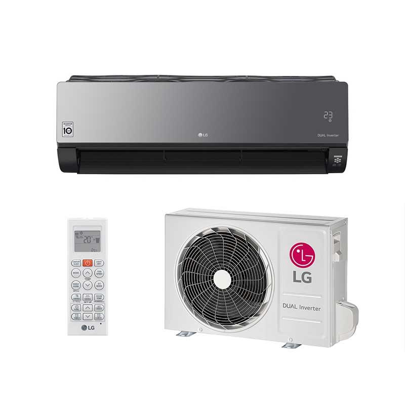 Ar Condicionado Split Hw Lg Dual Inverter Voice Artcool 19000 Btus Quente/Frio 220v Mono S4NW18KLRPB.EB2GAMZ