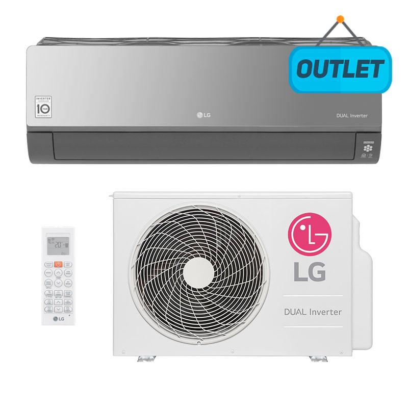 Ar Condicionado Split Hw Dual Inverter Art Cool Lg 18000 Btus Quente/frio 220V Monofasico S4NW18KLRPA.EB2GAMZ - OUTLET