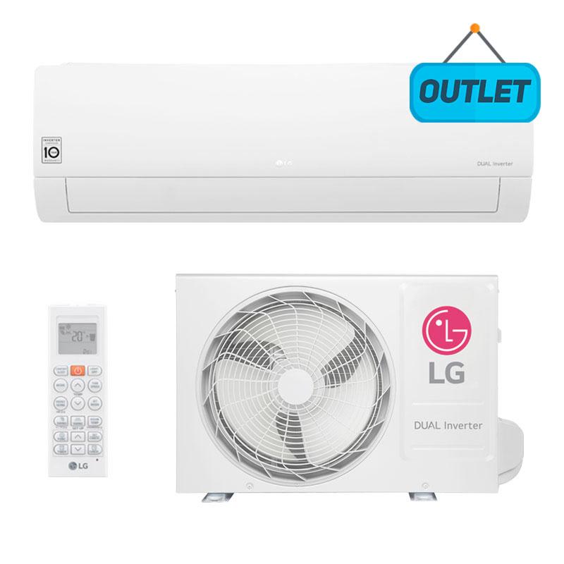 Ar Condicionado Split Hw Dual Voice Inverter Lg 22000 Btus Quente/frio 220V Monofasico S4NW24KE311.EB2GAMZ9 - OUTLET
