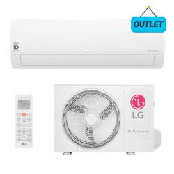 Ar Condicionado Split Hw Dual Voice Inverter Lg 18000 Btus Quente/frio 220V Monofasico S4NW18KL31A.EB2GAMZ - OUTLET4