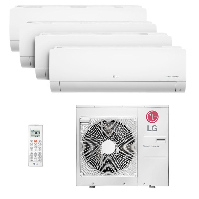Ar Condicionado Multi Quadri Split Hw Inverter Lg 4x9000 Btus Quente/frio 220V A4UW30GFA2.AWGZBRZ