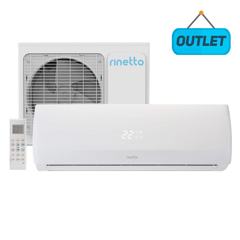 Ar Condicionado Split Hw On/off Rinetto 18000 Btus Quente/frio 220V Monofasico RNT18QFIR402 - OUTLET12