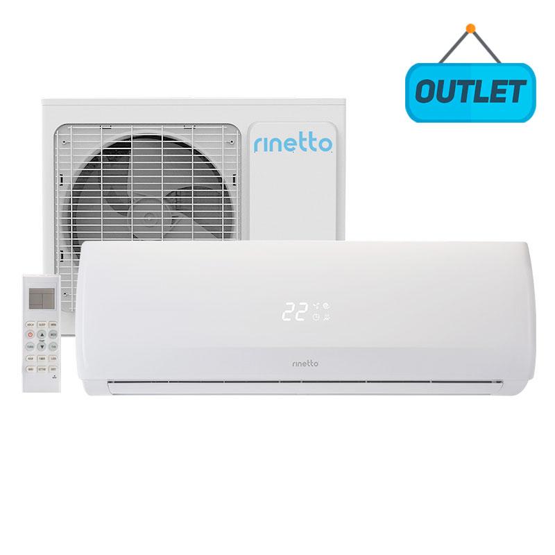 Ar Condicionado Split Hw On/off Rinetto 18000 Btus Quente/frio 220V Monofasico RNT18QFIR402 - OUTLET