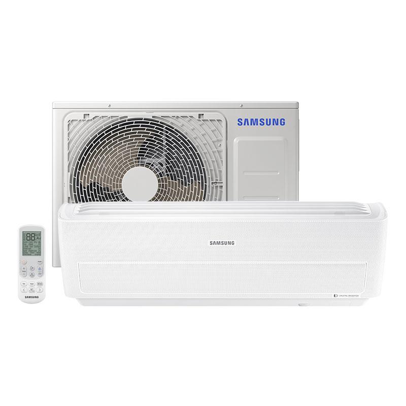 812581a94 Ar Condicionado Split Inverter Samsung Wind Free 18000 Btus Quente frio  220V Monofasico AR18NSPXBWKNAZ ...