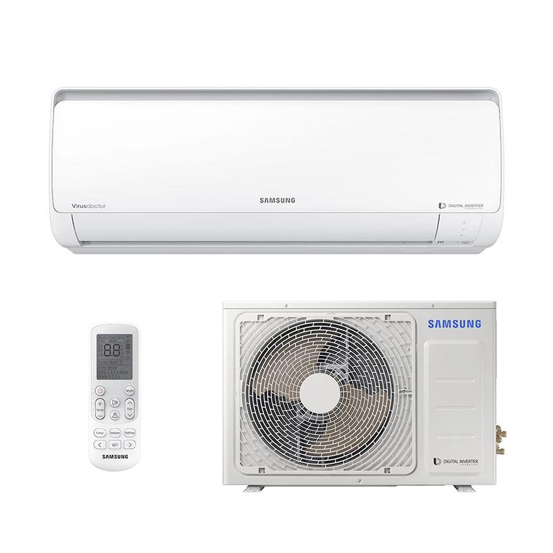 Ar Condicionado Split Digital Inverter Samsung 22000 Btus Frio 220V Monofasico AR24NVFPCWKNAZ