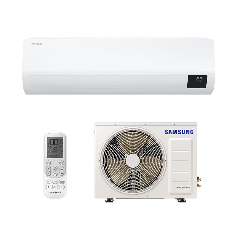 Ar Condicionado Split Digital Inverter Ultra Samsung 22000 Btus Quente/frio 220V Monofasico AR24TSHZDWKNAZ