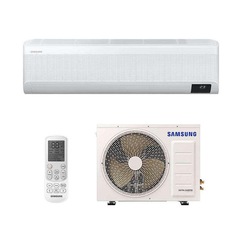 Ar Condicionado Split Inverter Wind Free Plus Samsung 18000 Btus Quente/frio 220V Monofasico AR18TSEABWKNAZ