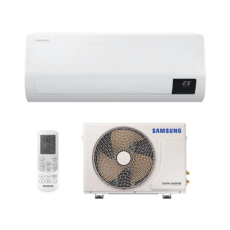 Ar Condicionado Split Inverter Windfree Samsung 9000 Btus Quente/frio 220V Monofasico AR09TSHCBWKNAZ