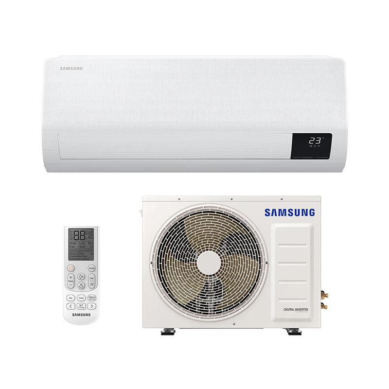 Ar Condicionado Split Inverter Windfree Samsung 22000 Btus Quente/frio 220V Monofasico AR24TSHCBWKNAZ