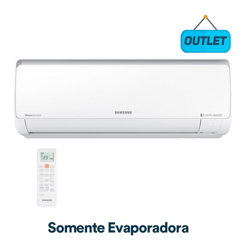 Evaporadora Split Digital Inverter Samsung 18000 Btus Frio 220V AR18JVSPSGMNAZ - OUTLET
