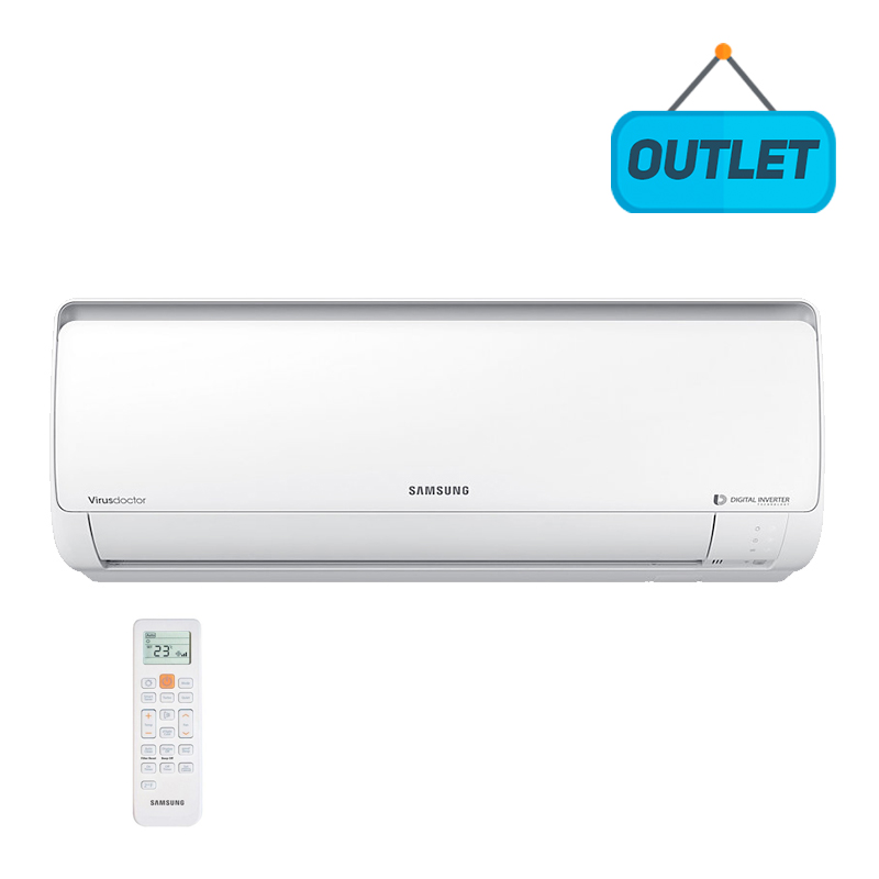 Evaporadora Split Digital Inverter Samsung 24000 Btus Frio 220V AR24HVSPASNNAZ - OUTLET