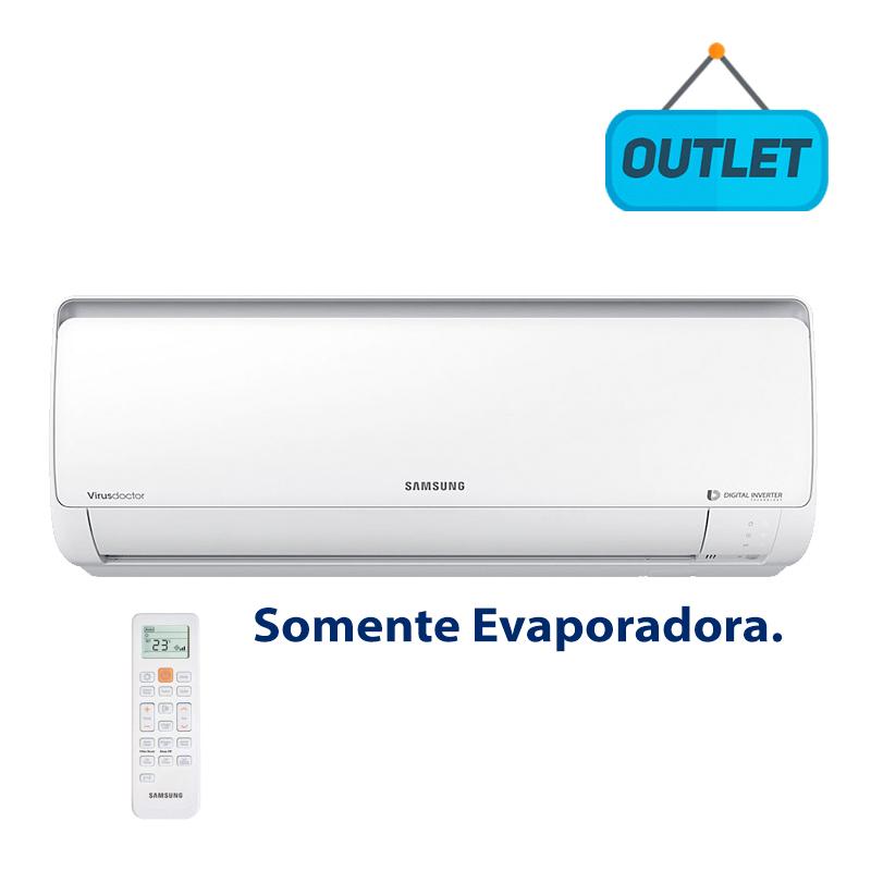 Evaporadora Split Digital Inverter Samsung 9000 Btus Frio 220V AR09KVSPBSNNAZ - OUTLET