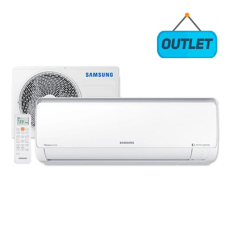 Ar Condicionado Split Hw Digital Inverter Samsung 11500 Btus Frio 220V AR12NVFPCWKNAZ - OUTLET