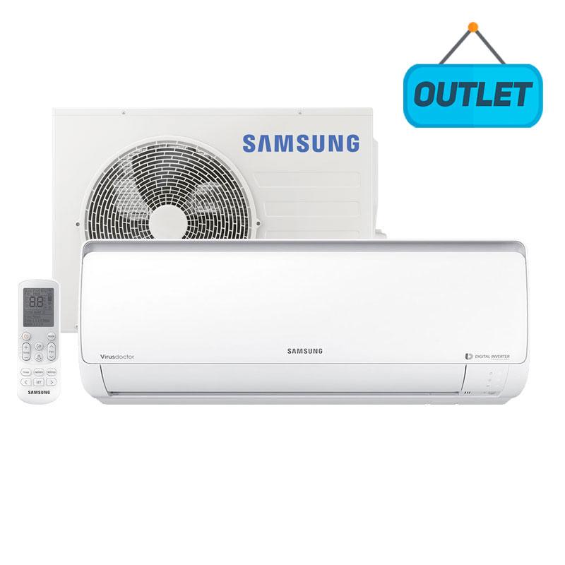 Ar Condicionado Split Digital Inverter Samsung 22000 Btus Frio 220V Monofasico AR24NVFPPCWKNAZ - OUTLET