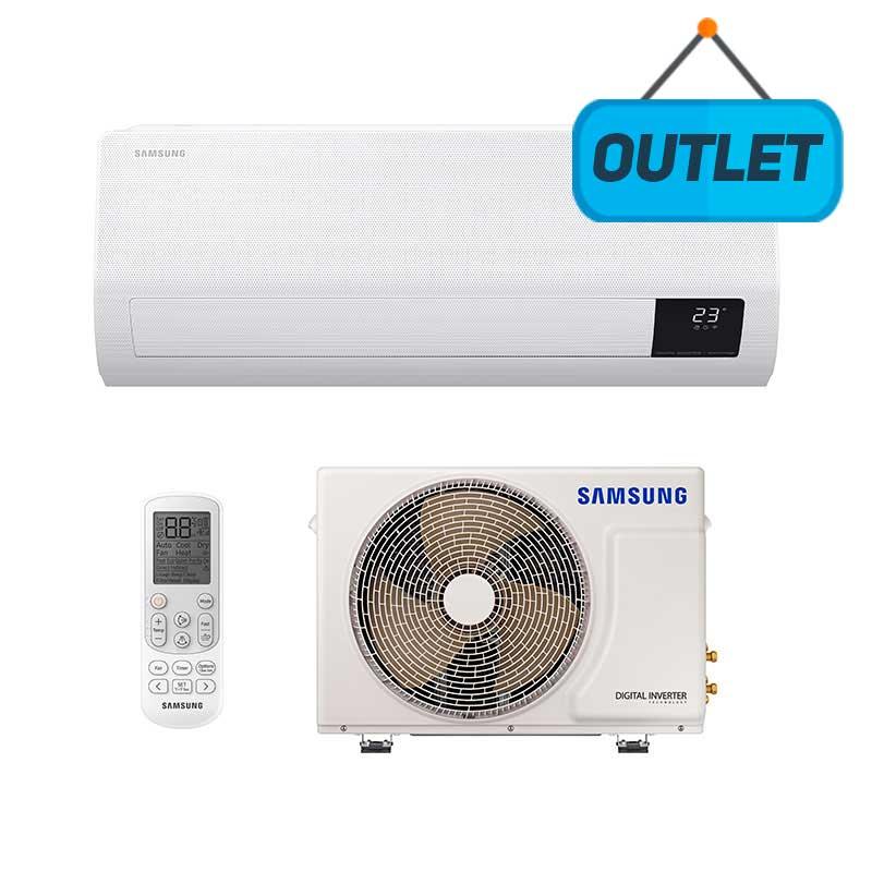 Ar Condicionado Split Inverter Windfree Samsung 9000 Btus Q/f 220v Mono AR09TSHCBWKNAZ - OUTLET