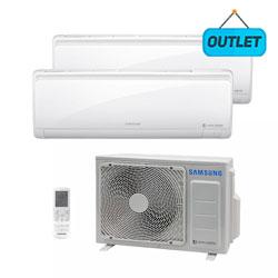 Ar Condicionado Multi Bi Split Inverter Samsung 1x9000+1x18000 Btus Quente/frio 220V Monofasico AJ0177NCJ2CH/AZ - OUTLET
