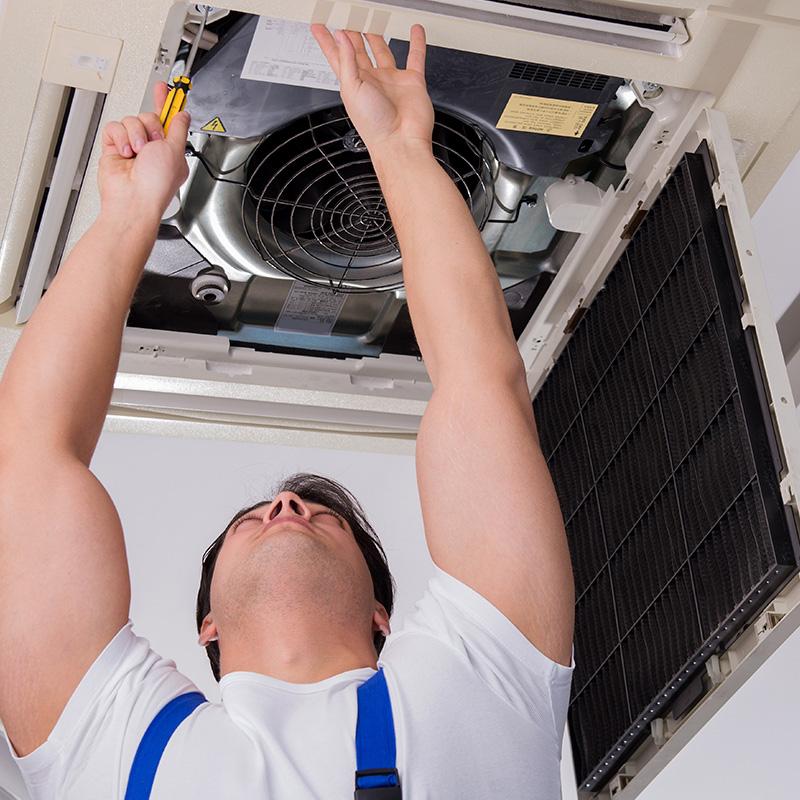 Instalação de Ar Condicionado Cassete Inverter 21000 a 32000 Btus