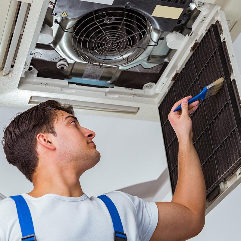 Limpeza de Ar Condicionado Cassete Inverter 16000 a 32000 Btus