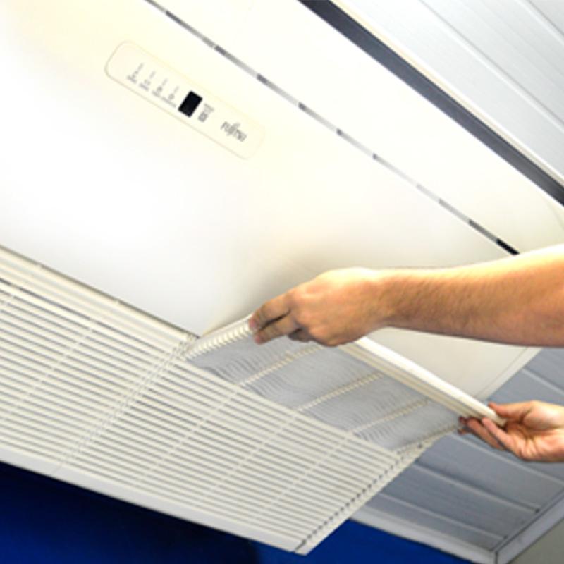 Limpeza de Ar Condicionado Piso Teto Inverter 80000 BTU/s