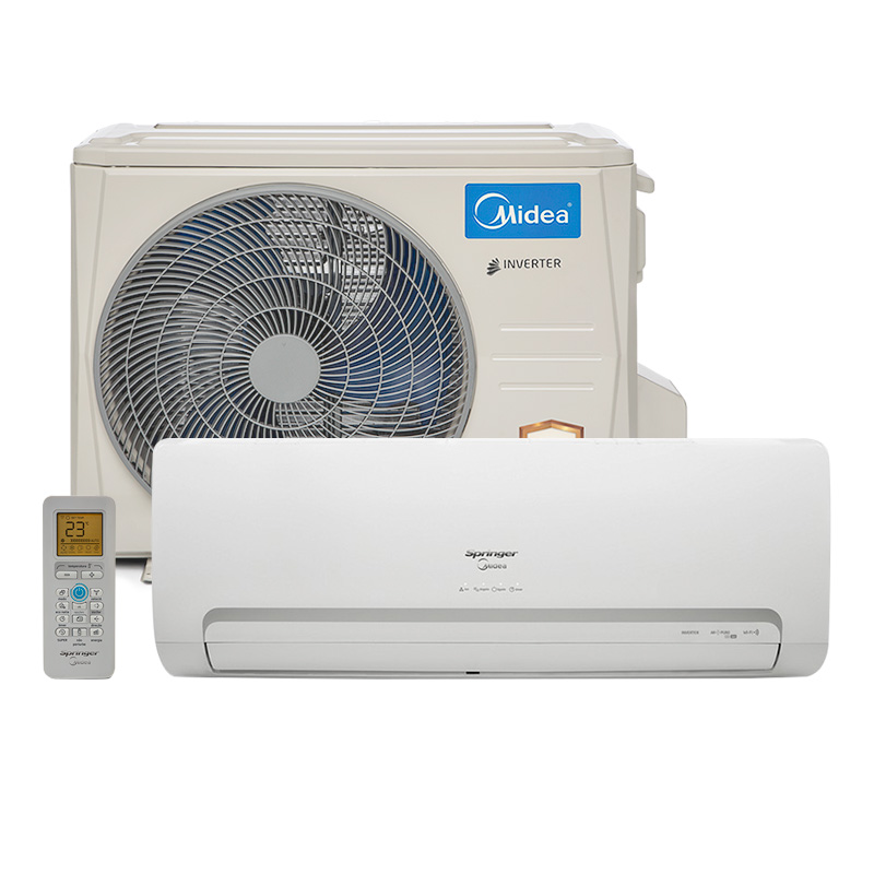 Ar Condicionado Split Hw Inverter Springer Midea 12000 Btus Quente/Frio 220v 1F 42MBQA12M5