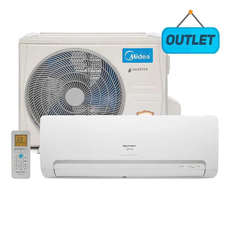 Ar Condicionado Split Hw Inverter Springer Midea 9000 Btus Frio 220V Monofasico 42MBCB09M5 - OUTLET