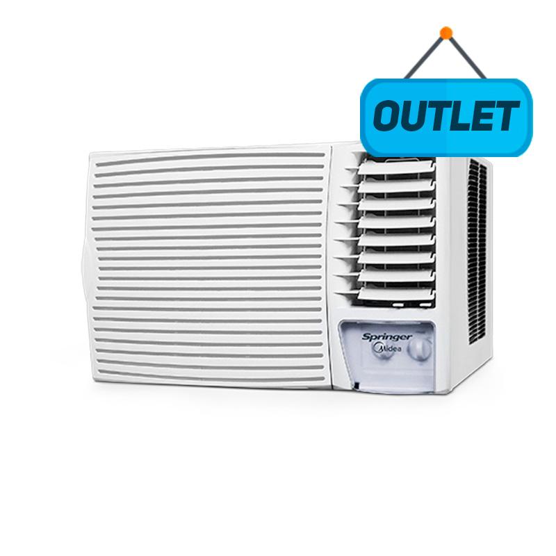 Ar Condicionado Janela Manual Springer Midea 12000 Btus Frio 220V 1F MCI125BB - OUTLET