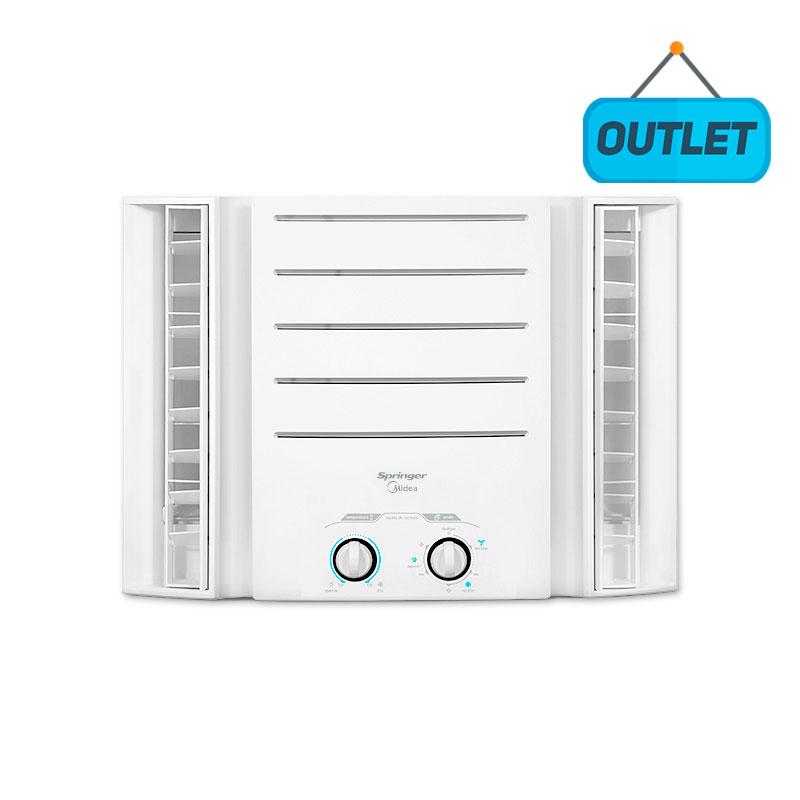 Ar Condicionado Janela Manual Springer Midea 10000 Btus Frio 110V Monofasico QCI108BB8 - OUTLET