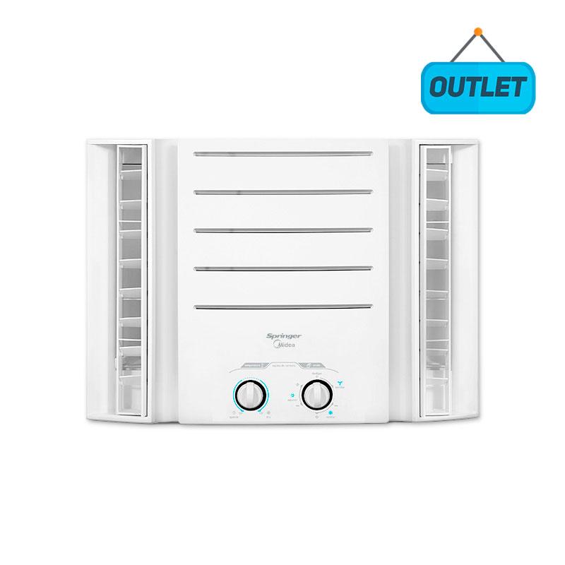 Ar Condicionado Janela Manual Springer Midea 10000 Btus Frio 110V Monofasico QCI108BB - OUTLET