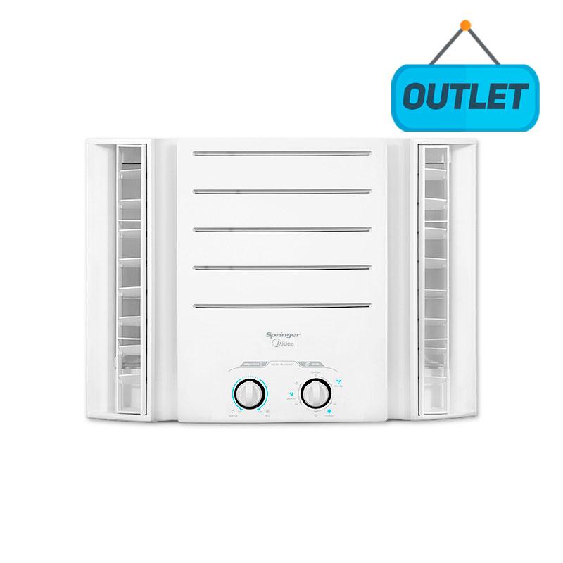 Ar Condicionado Janela Manual Springer Midea 10000 Btus Frio 220V Monofasico QCI105BB - OUTLET