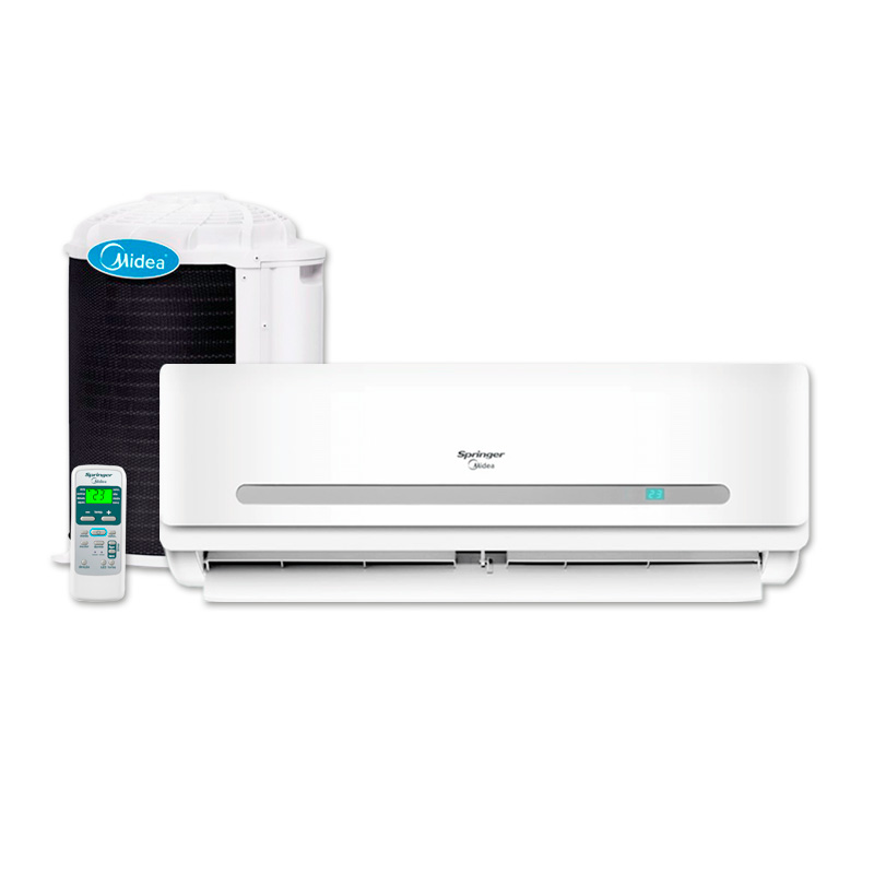 Ar Condicionado Split Hi Wall On Off Springer Midea 29000 Btus Frio 220v 1F 42MACA30S5