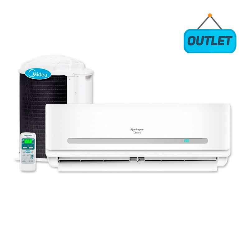 Ar Condicionado Split Hw On/off Springer Midea 29000 Btus Quente/frio 220V Monofasico 42MAQA30S51 - OUTLET