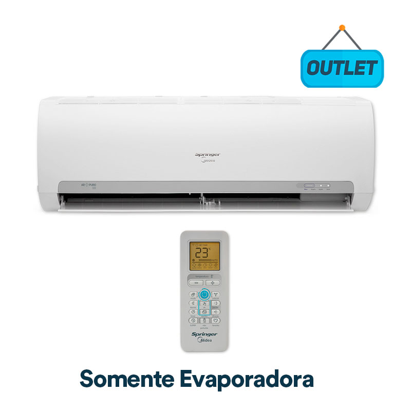 Evaporadora Split Hw On/off Springer Midea 9000 Btus Frio 220V Monofasico 42MACA09S5 - OUTLET