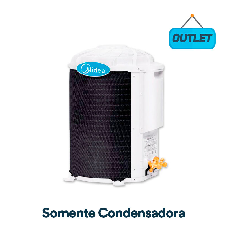 Condensadora Split Hw On/off Springer Midea 12000 Btus Quente/frio 220V Monofasico 38KQX12S5 - OUTLET