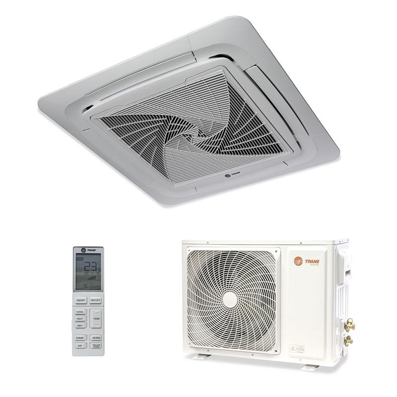 Ar Condicionado Split Cassete Inverter Trane 24000 Btus Quente/frio 220V Monofasico 4MXC6524G1000AA